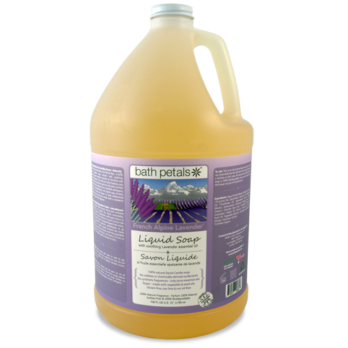 French Alpine Lavender Liquid Soap - 1Gal.
