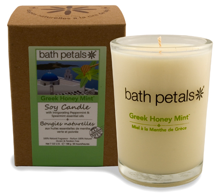 Greek Honey Mint Soy Tumbler Candle